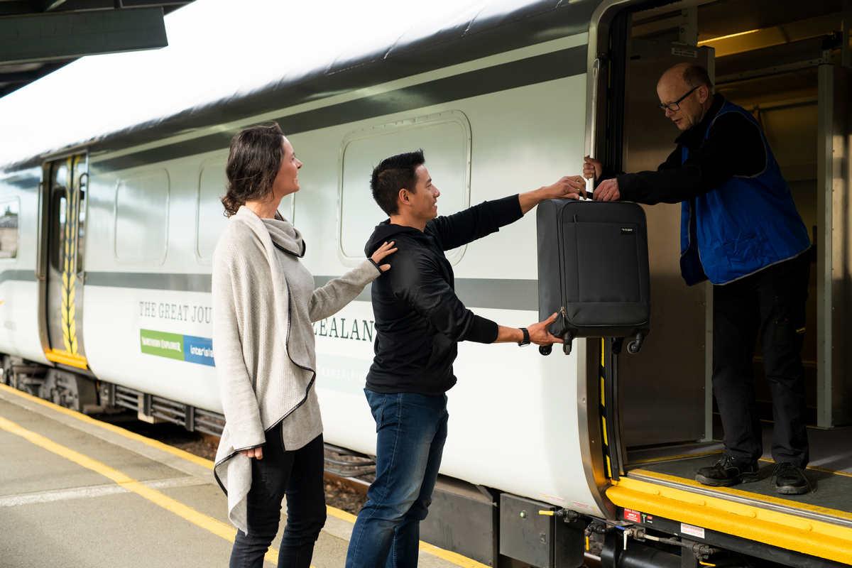 Scenic Journeys luggage van