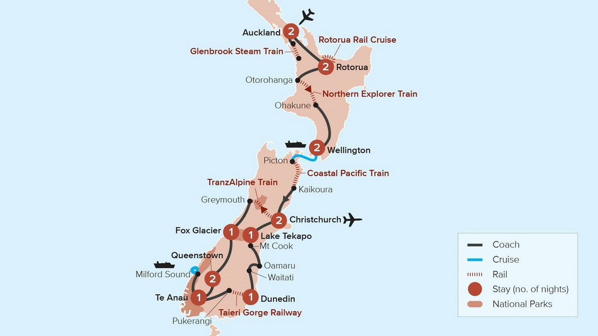 NZ Rail Adventure Travel Marvel