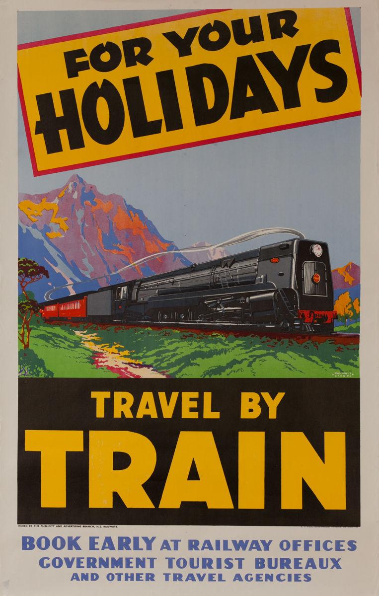 NZ Rail Tours