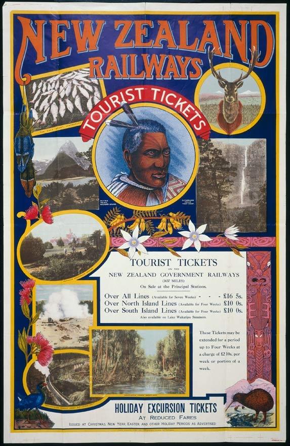 New Zealand Railways Poster